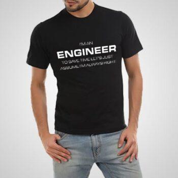 Engineer Printed T-Shirt