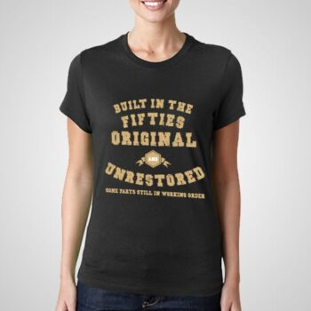 Built In The Fifties Printed T-Shirt