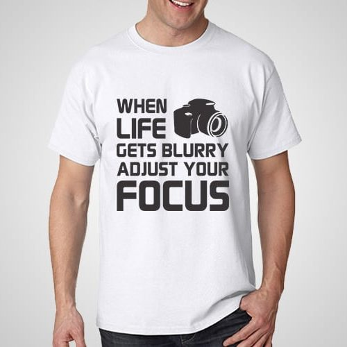 Adjust Your Focus Printed T-Shirt