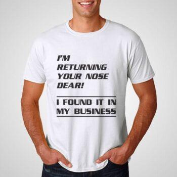 Returning Nose Printed T-Shirt