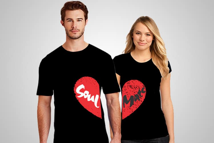 Soul Mate Printed T-Shirt
