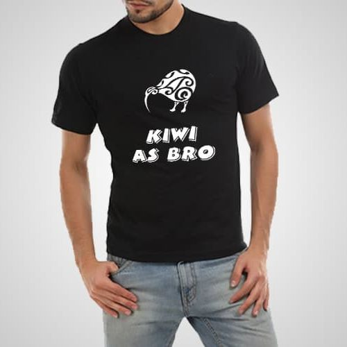 Kiwi As Bro Printed T-Shirt