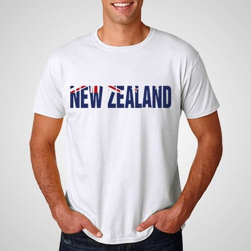New Zealand Flag Font