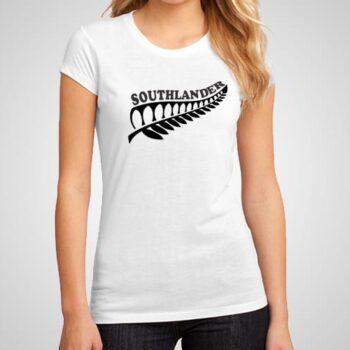 Southlander Fern Leaf Printed T-Shirt