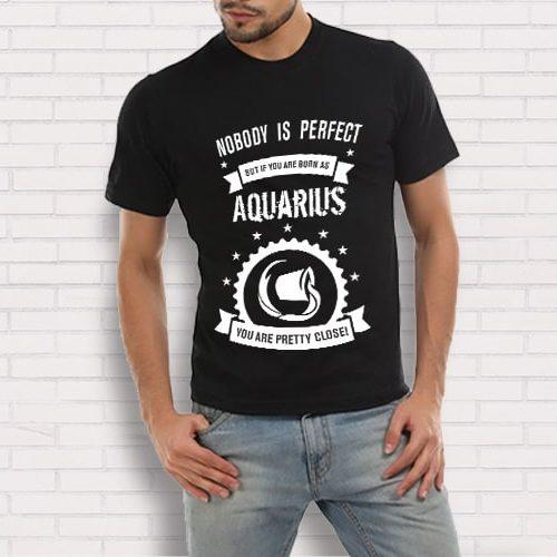 Aquarius Printed T-Shirt