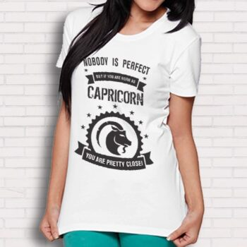 Capricorn Printed T-Shirt