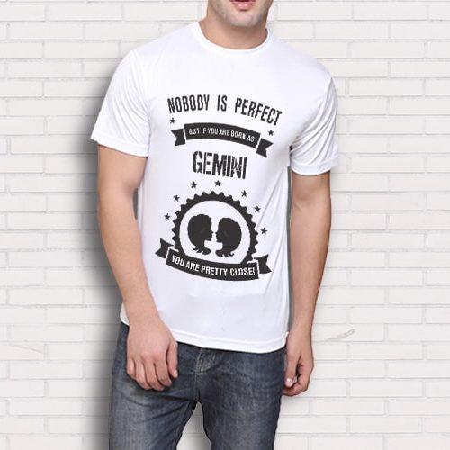 Gemini Printed T-Shirt