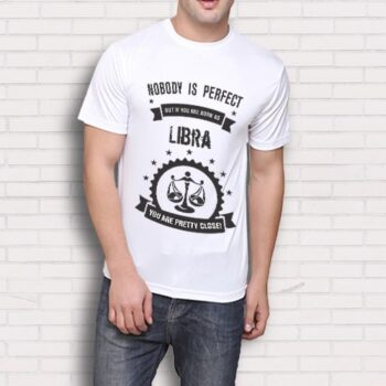Libra Printed T-Shirt