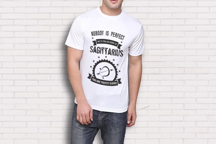 Sagittarius Printed T-Shirt