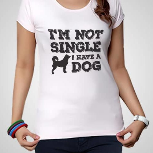 I Am Not Single Printed T-Shirt