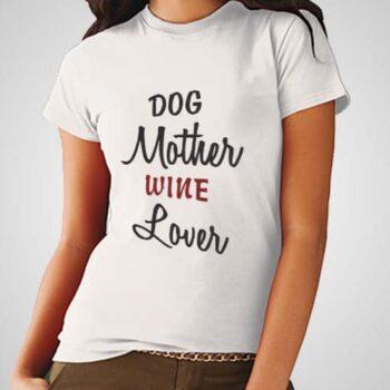 Dog Mother Printed T-Shirt