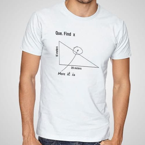 Find X Printed T-Shirt