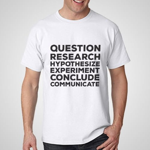 Questioon Research Printed T-Shirt