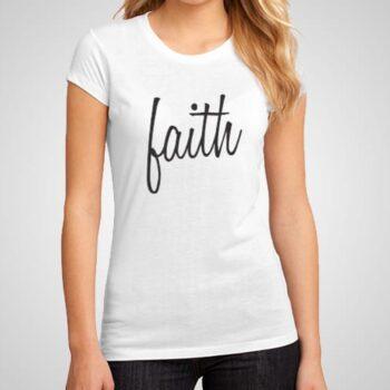 Faith Printed T-Shirt