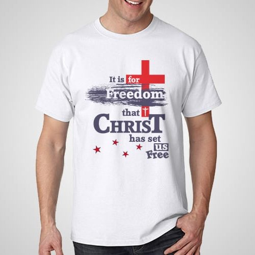 Freedom Printed T-Shirt