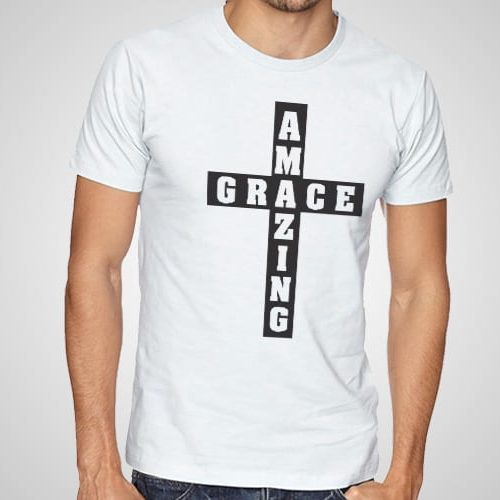 Amazing Grace Printed T-Shirt