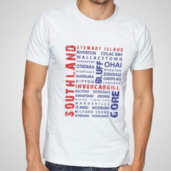 Southland Wordart printed t-shirt