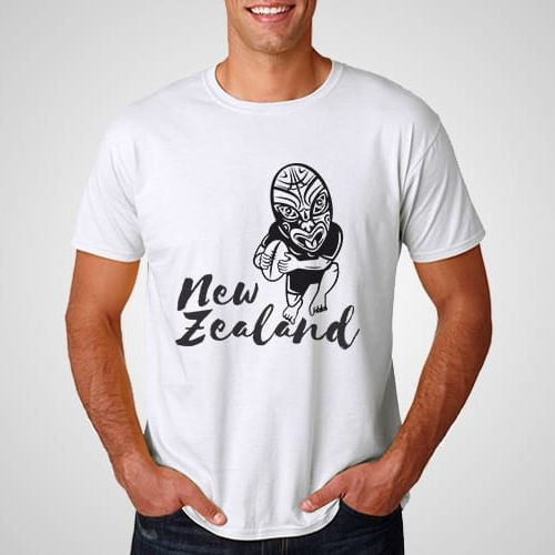 New Zealand Rugby Printed T-Shirt