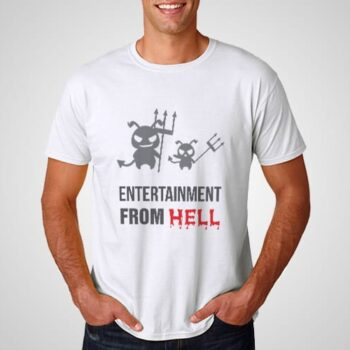 Entertainment From Hell Printed T-Shirt