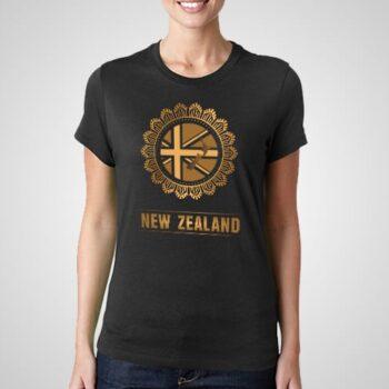 Mandala NZ Printed T-Shirt