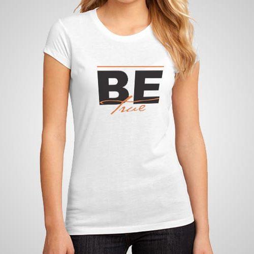 Be True Printed T-Shirt