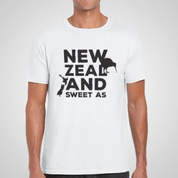 New Zealand Sweet As Printed T-Shirt
