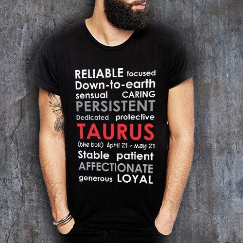 Taurus Positive Negative Printed T-Shirt