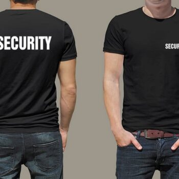 Security Printed T-Shirt