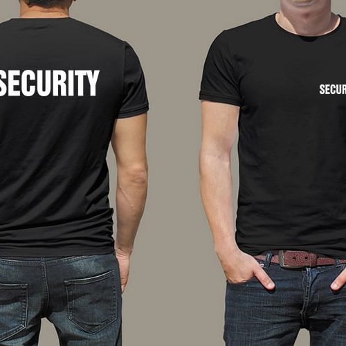 Security Printed T-Shirt