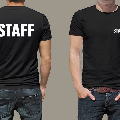 Staff Printed T-Shirt