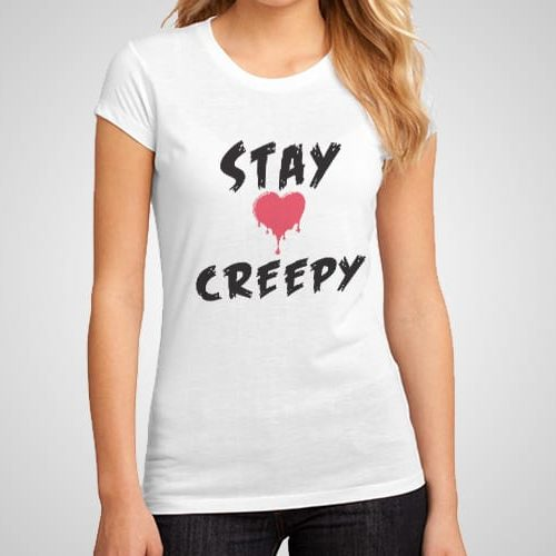 Stay Creepy printed T-Shirt