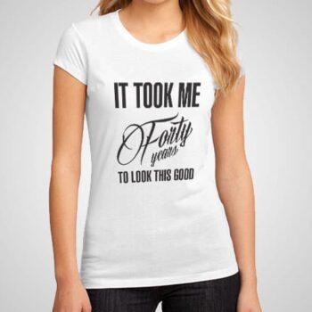 Look Good Printed T-Shirt
