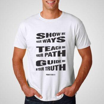 Show Teach Guide Printed T-Shirt