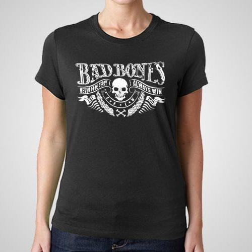 Bad Bones Printed T-Shirt