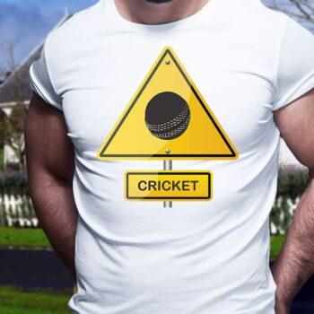 Cricket Ball Hazard Printed T-Shirt