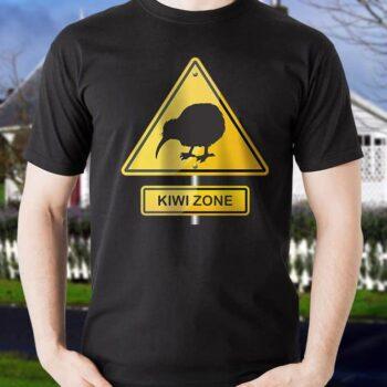 Kiwi Zone Hazard Printed T-Shirt