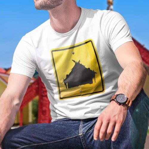 Marae Hazard Printed T-Shirt