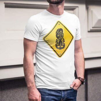 Tiki Hazard Printed T-Shirt