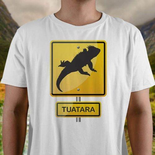 Tuatara Hazard Printed T-Shirt