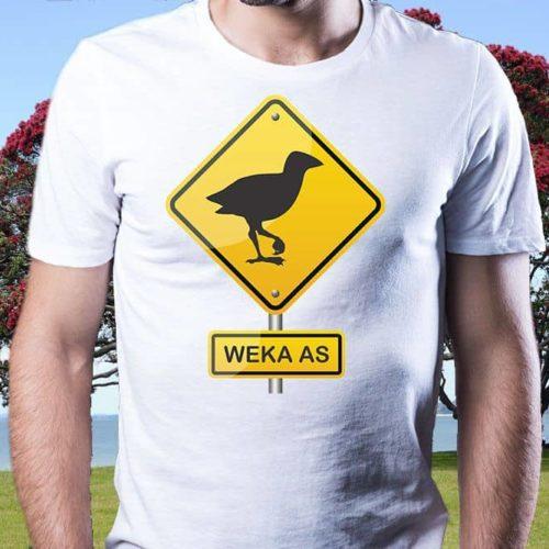 Weka As Hazard Printed T-Shirt