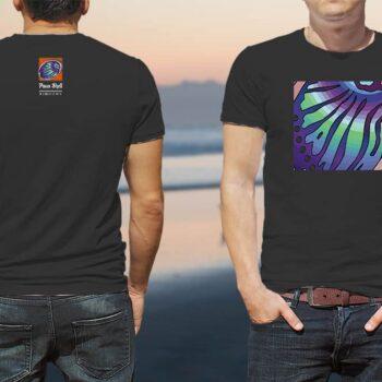 Paua Shell Kiwiizms Printed T-Shirt