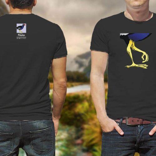 Pukeko Kiwiizms Printed T-Shirt