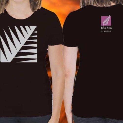 Silver Fern Kiwiizms Printed T-Shirt