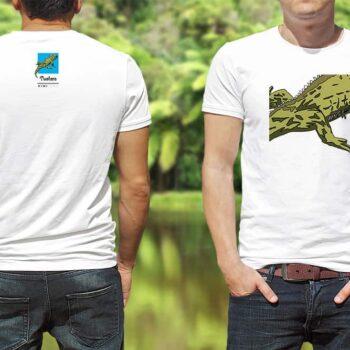 Tuatara Kiwiizms Printed T-Shirt