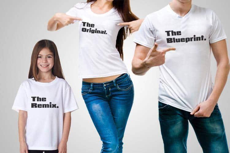 Remix Blueprint Original T-Shirt