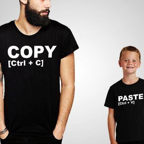 Copy Paste Printed T-Shirt