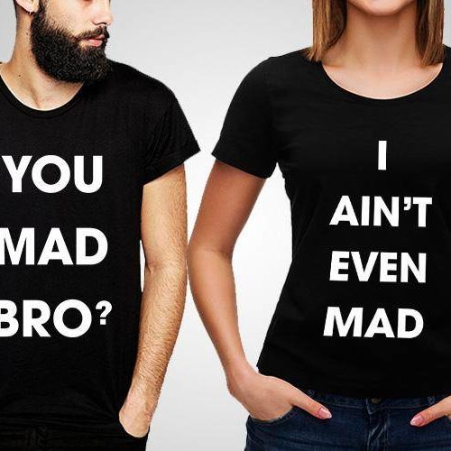 Mad Bro Printed T-Shirts