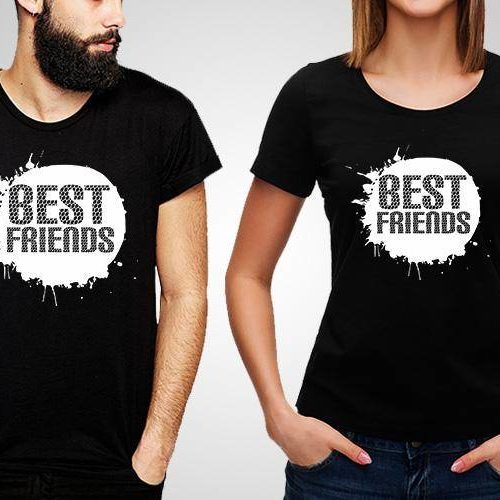 Best friends Printed T-Shirt