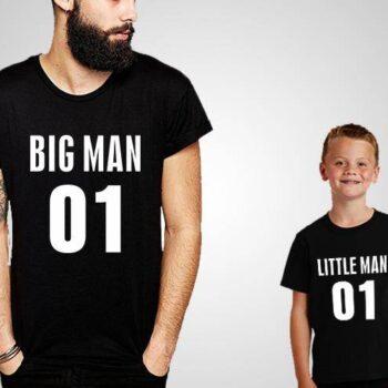 Big Man Little Man T-Shirts