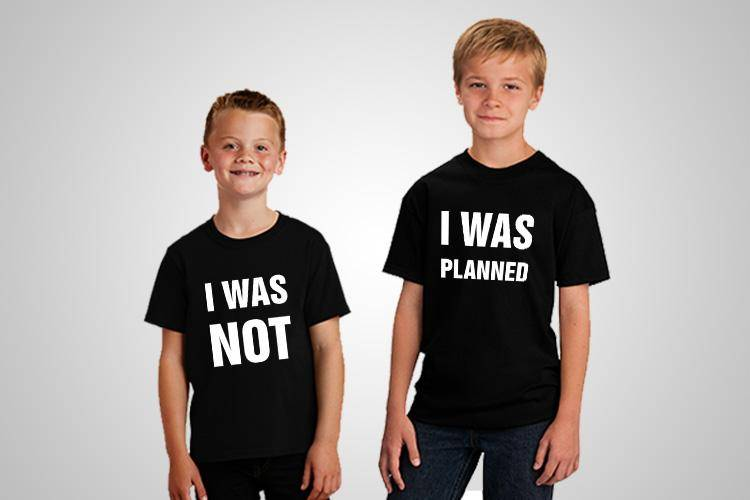 Planned Unplanned Printed T-Shirt